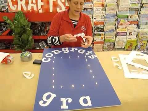 crankin out crafts ep228 lighted portrait graduation sign youtube