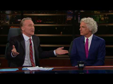 Steven Pinker: Enlightenment Now   Real Time with Bill Maher (HBO)