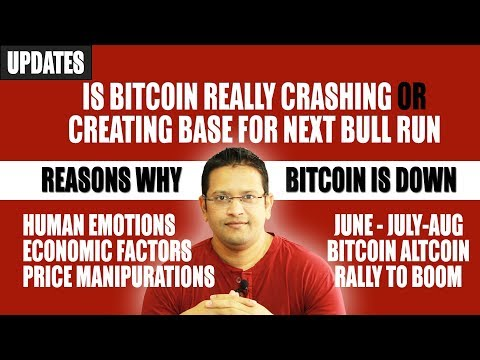 Why BITCOIN is down? Is Bitcoin Really Crashing or Its Creating Platform for Bull Run in June-July