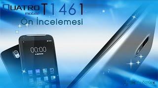 Quatro Mobile T1461 1GB Ram 1.3GHZ 4 Çekirdekli Yeni Akıllı Cep Telefonu Ön İncelemesi - Teknoloji meraklısı ey ahali! Bu içeriğimizde sizlerle birlikte Bursadan yola çıkan yerli bir markanın ürünü olan Quatro Mobile T1461 model akıllı telefonu ö...
