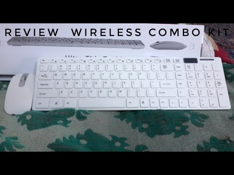 Unboxing & Review My New Easy Wireless Keyboard Mouse (Review & Test)