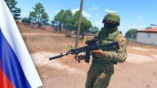 ARMA 3 FT-2 Россия vs США.  Это вам не батла!