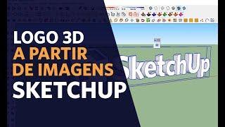 Como Criar Letreiro 3D (logotipo) a partir de imagens