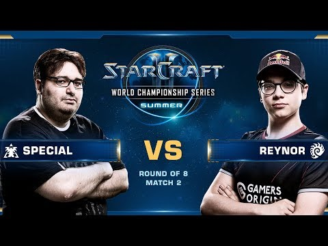 2019 WCS Summer - Round Of 8: SpeCial (T) Vs Reynor (Z)