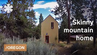 Location: tiny skinny home feels big facing Bend
