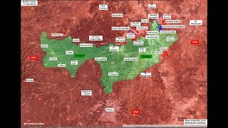 Guerra Siria 17.04.18 Noticias y Mapas Victoria total en Guta, a por Yarmuk, Qalamoun y Rastan