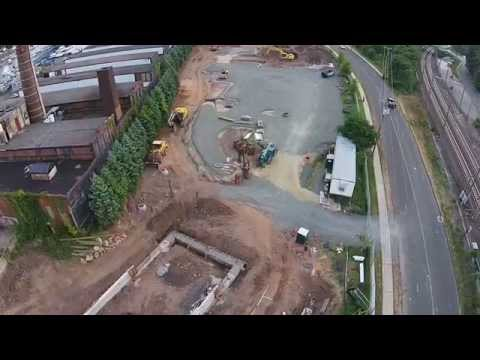 Stony Creek Brewery Construction - Drone flyover