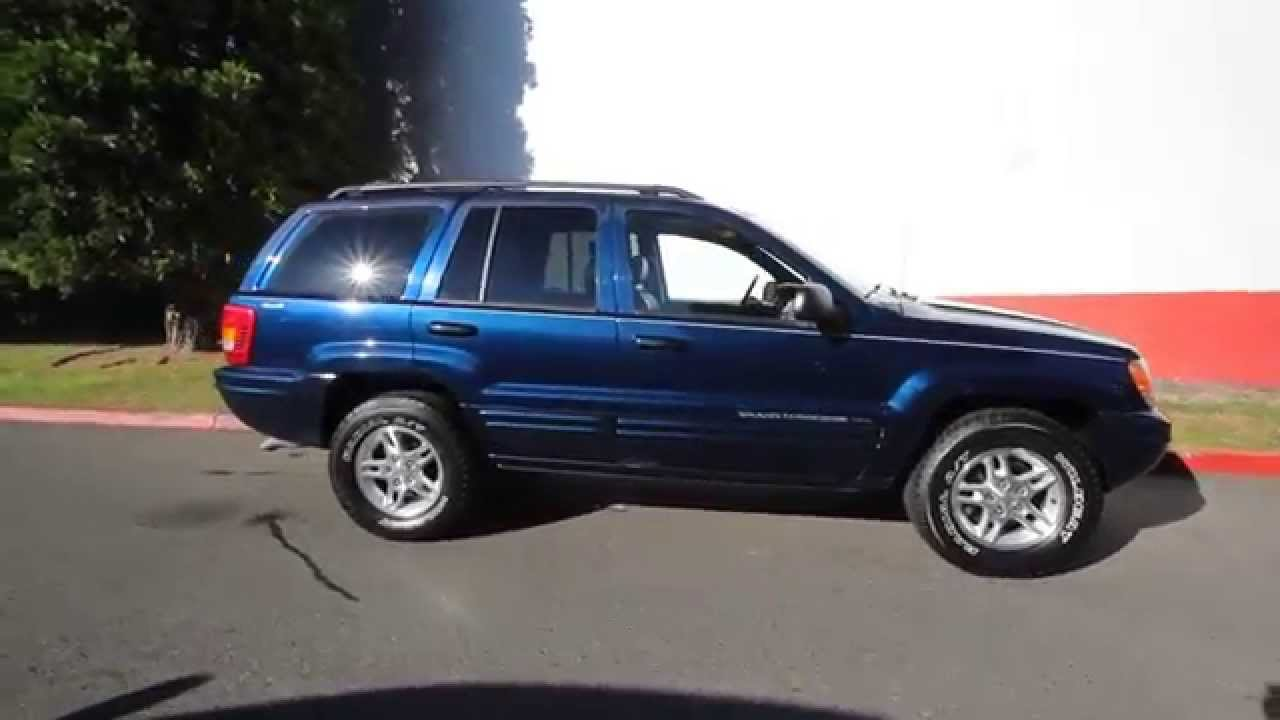 2000 Jeep Grand Cherokee Limited | Patriot Blue Pearlcoat ...