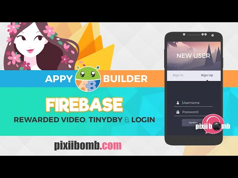 AppyBuilder Tutorial: Firebase with Points, RewardedVideo, TinyDB & Login