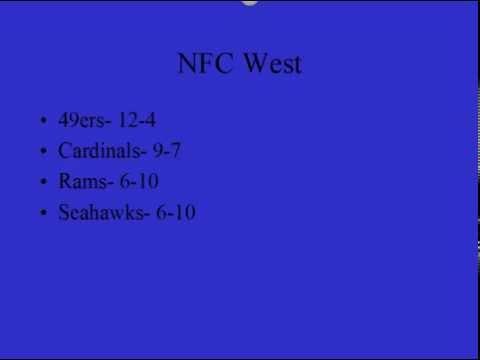 2012-13 NFL Predictions