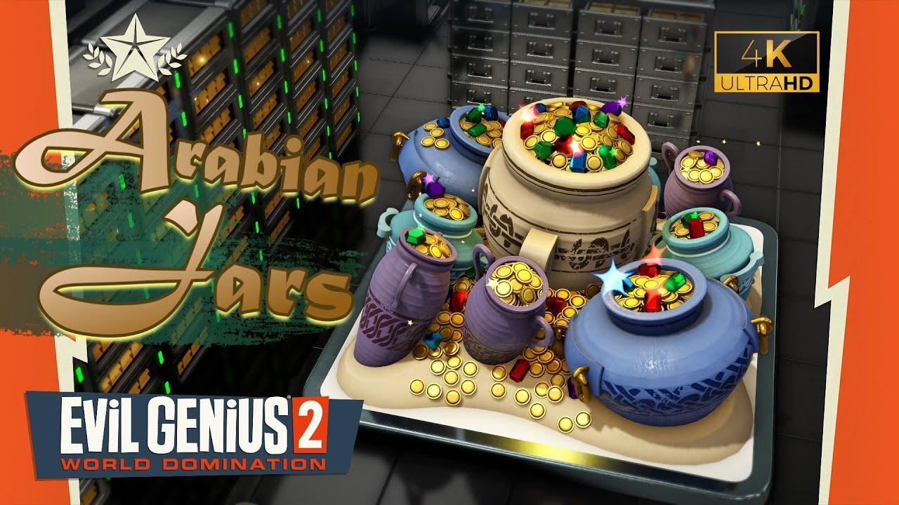 Download Evil Genius 2 (4K UHD) ~ Arabian Jars