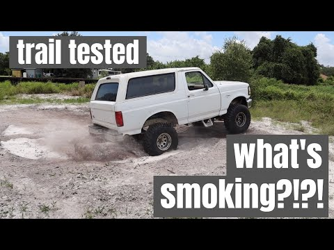 Repairing Ford Bronco Mud Truck: Episode 2