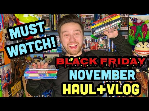 Black Friday/November Blu-Ray Haul 2019 | A MUST WATCH
