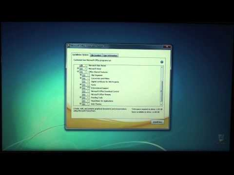 How To: Install Microsoft Office 2010 64-bit