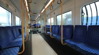 【NZ】 オークランド AT Metro パパトエトエ駅発車の車窓と車内風景 Eastern Line Auckland New Zealand (2018.10)