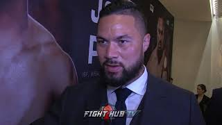"""JOSEPH PARKER ON CALLING ANTHONY JOSHUA """"THE KING OF STEROIDS"""""""