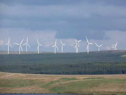 Whitelee Wind Farm, Eaglesham, Scotland