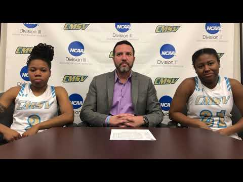CMSV Women's Basketball Post Game Press Conference: Sarah Lawrence College