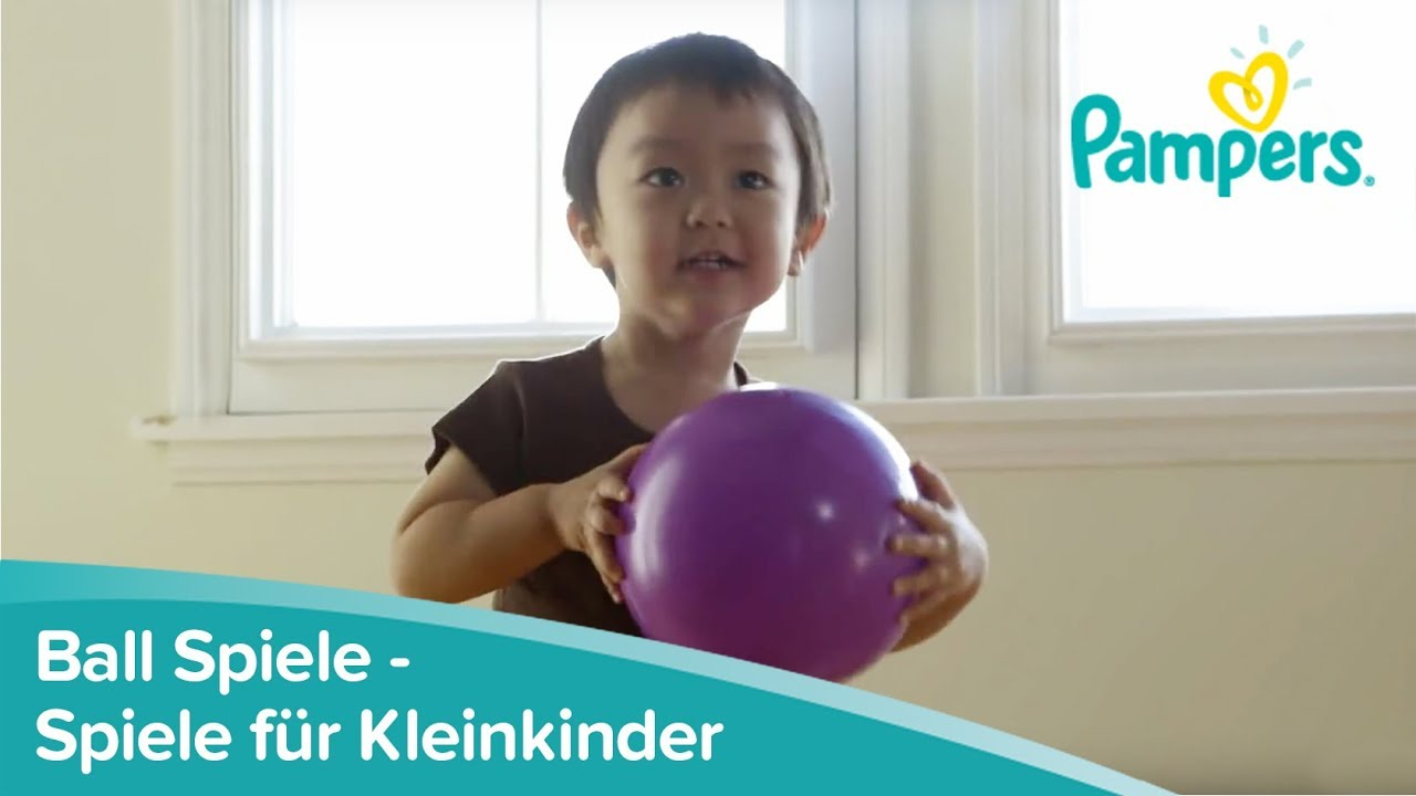 spiele f r kleinkinder ball spiele pampers youtube. Black Bedroom Furniture Sets. Home Design Ideas