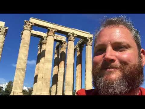 Athens Greece, including Plaka neighborhood. Harts on Travel Day 15.