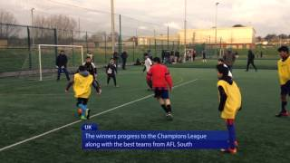Masroor region triumphant at Atfal Football League North 2016