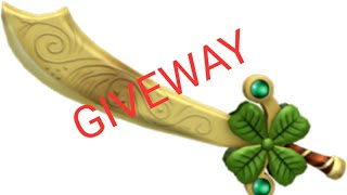 Assassin Gilded Luck Giveaway (Roblox)