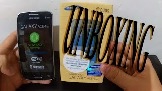 Samsung Galaxy Ace 4 Duos Unboxing | Revisado  2016
