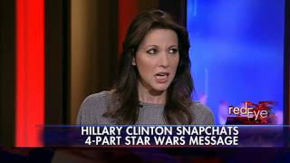 Clinton uses Snapchat for