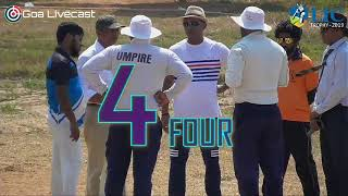 LIC Trophy 2019 | Day1 Session 1 | Tennis Ball Cricket, Calangute