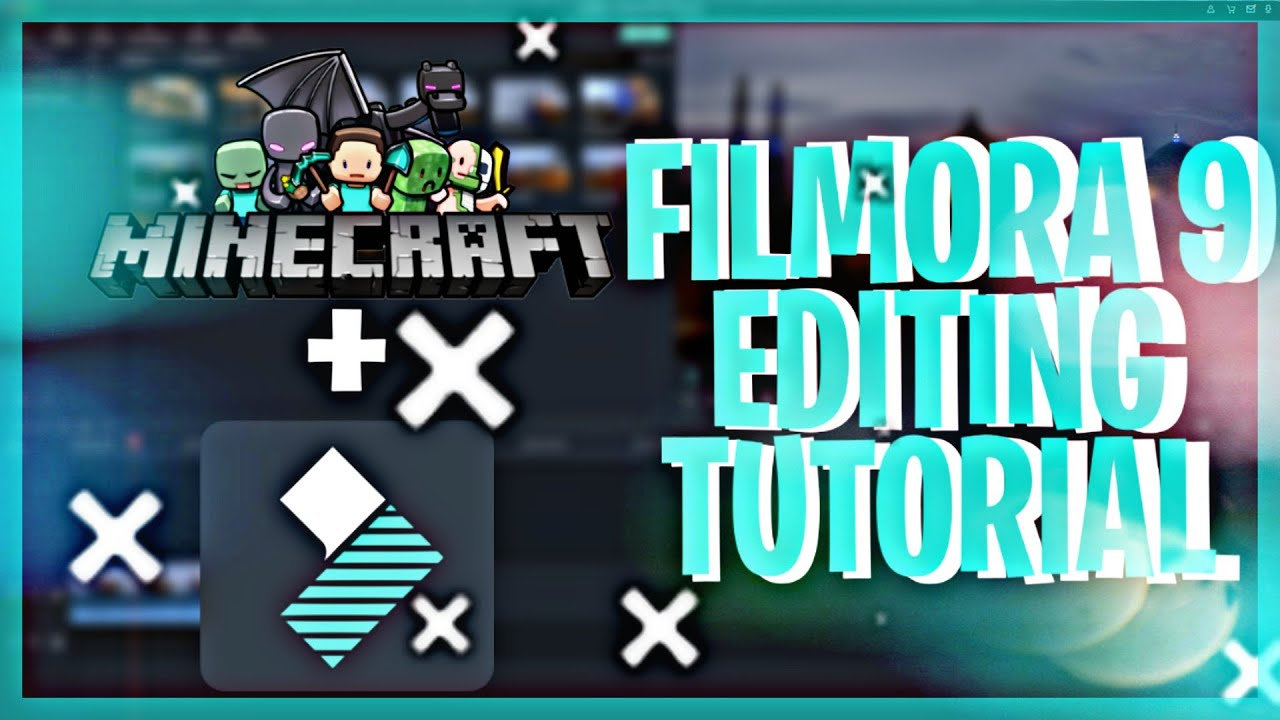 How to Edit Gaming Videos with Filmora9 - Minecraft   Tutorial