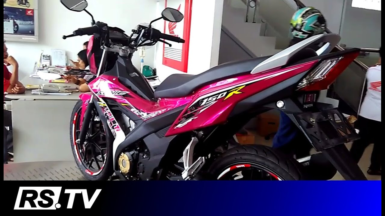 Review Honda Sonic 150r With Accessories Youtube