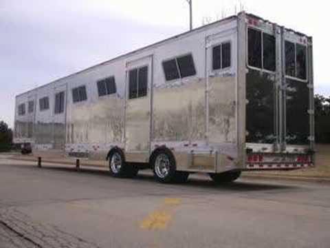 C&E Horse Transports New 53' 16 Horse Trailer - Fleet Equine