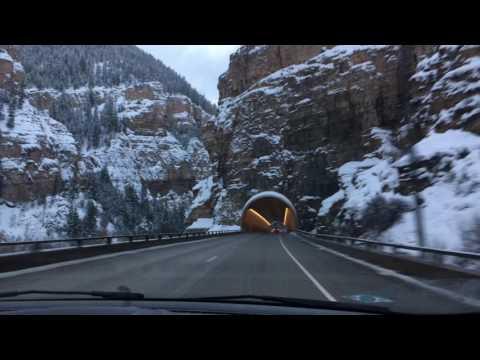 Mountains from Denver to Aspen, Colorado