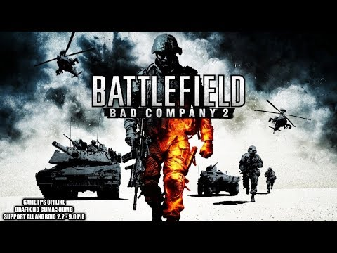 Versi Remastered Support Semua Android - Battlefield Bad Company 2 Android - 동영상