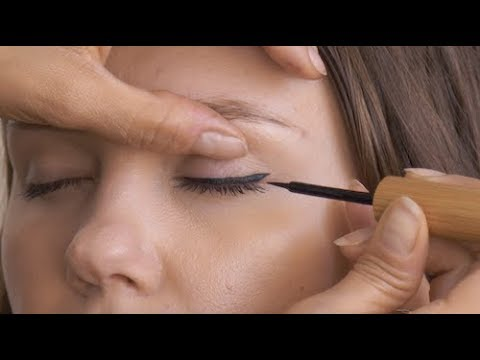 How to Apply Liquid Eyeliner with Natural & Organic Products | Glow Organic