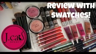 Brand Review: JCat Beauty!  $2-$6 per product for HIGH QUALITY Makeup! *Jen Luv
