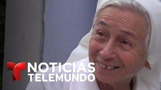 El valor de una monja que marchó contra Nicolás Maduro | Noticiero | Noticias Telemundo