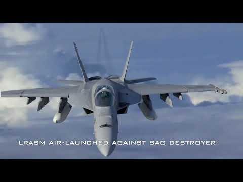 Lockheed Martin's Long Range Anti Ship Missile LRASM   Military videos