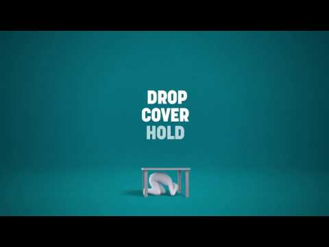 Remember: Drop, Cover, Hold