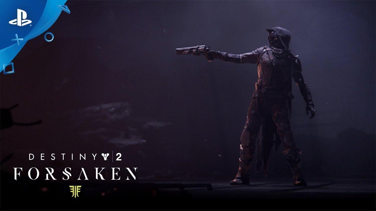 Destiny 2 Forsaken Last Stand Of The Gunslinger Ps4 Youtube
