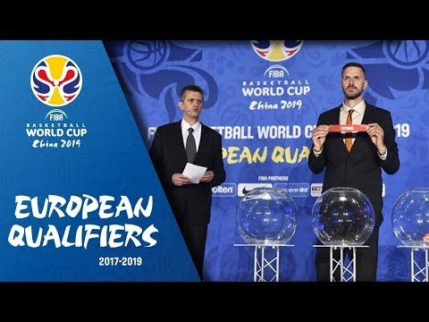 FIBA Basketball World Cup 2019 - European Qualifiers draw ceremony (final 8 teams)