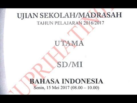 Soal Un Sd Soal Un Sd Bahasa Indonesia Contoh Soal Free Download Youtube