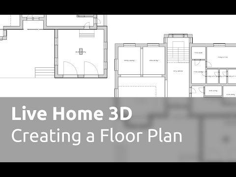 Live Home 3D Tutorials - Creating a Floor Plan