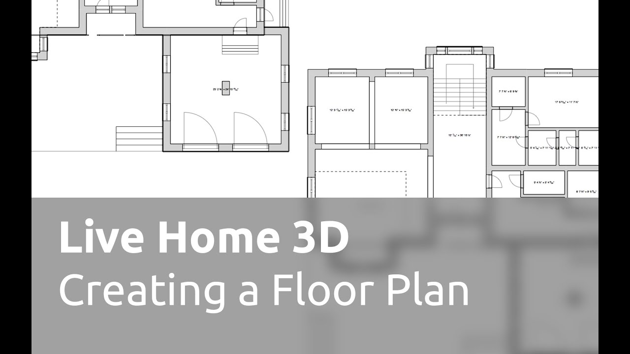 Live home 3d for mac tutorials creating a floor plan