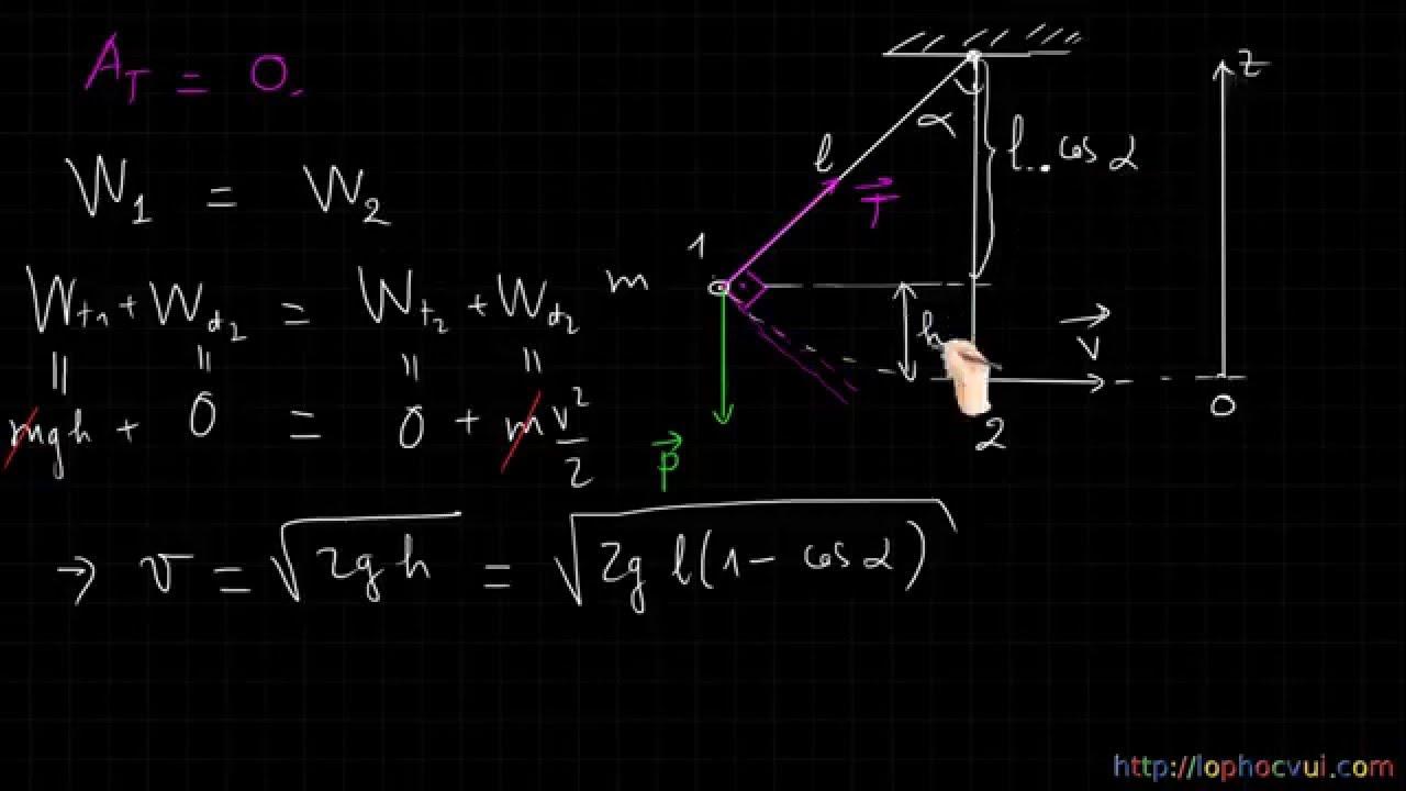 [Vật lí 10 cơ bản và nâng cao]Chương 4-Bài 37- Định luật bảo toàn cơ năng trong trường trọng lực