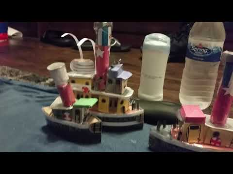 Tugs Quickie: Sunshine's Barge