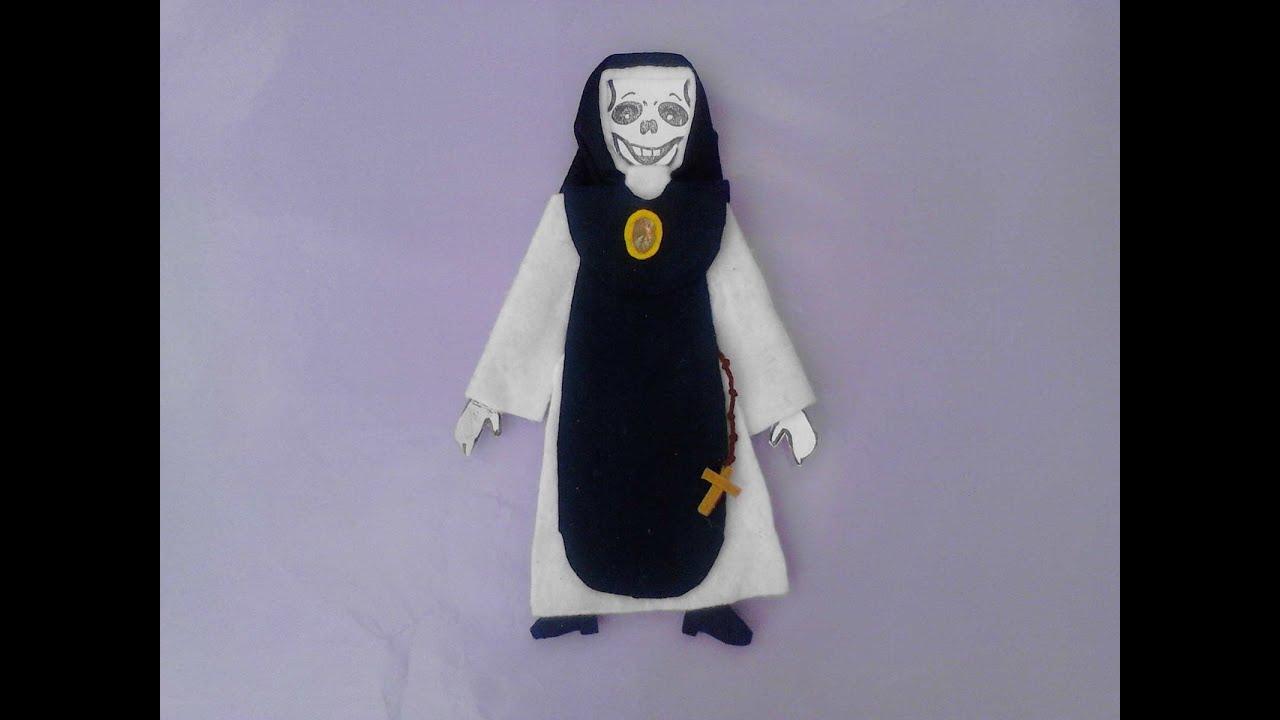 Como Vestir Calaveras O Esqueleto De Papel La Monja