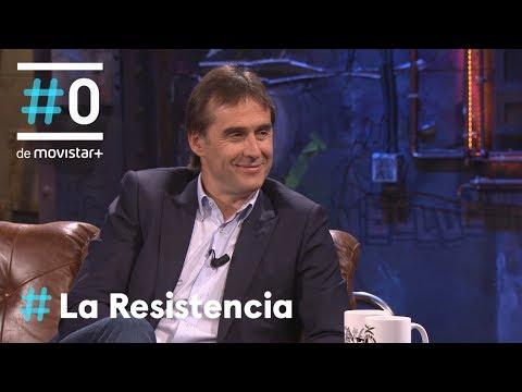 LA RESISTENCIA - Entrevista a Julen Lopetegui   #LaResistencia 16.05.2018