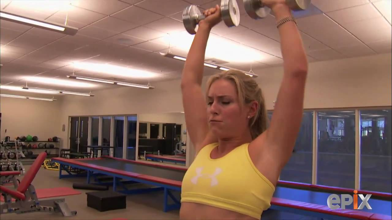 Lindsey Vonn: In The Moment Training - YouTube