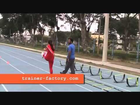 Atletismo ejercicios para de entrenamiento